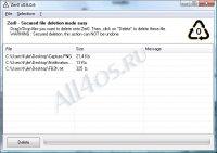 Zer0 – программа для безвозвратного удаления данных