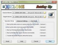 XXCLONE - программа для полного копирования жесткого диска