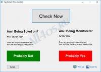 SpyDetectFree – утилита для поиска шпионских программ и процессов на ПК