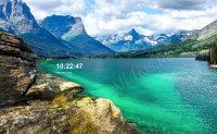 Заставка «Горное озеро»
