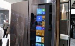 Первый холодильник на Windows 10. LG показали умную новинку