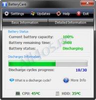 BatteryCare � ��������� ��� �������� ������ � ������� ������� ��������