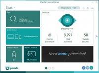 Panda Free Antivirus – бесплатный облачный антивирус для Windows