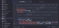 Atom – бесплатный редактор кода с подсветкой синтаксиса
