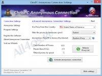 ChrisPC Anonymous Proxy – программа для анонимного пользования интернетом