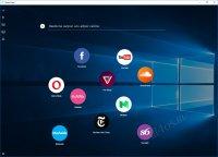 Opera Neon - нестандартный браузер для Windows 10