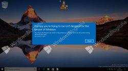 Первые скриншоты облачной Windows 10 Cloud и Starter