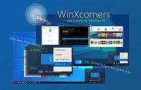 WinXCorners – назначаем активные углы экрана в Windows 10