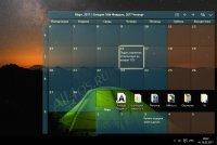 Desktop Calendar – бесплатный календарь для рабочего стола Windows 10