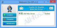 WebCam On-Off – программа для отключения веб-камеры на ПК и ноутбуке