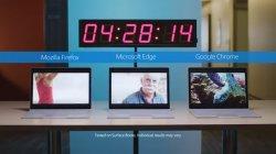 Эксперимент Microsoft для браузера Edge: время работы от батареи