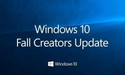 Новое большое обновление Windows 10 - Fall Creators Update
