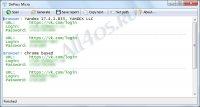 DePass Micro – программа для расшифровки паролей в браузере