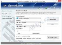 GameBoost – программа для оптимизации компьютера под игры