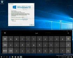 Первые скриншоты новой сенсорной клавиатуры для Windows 10