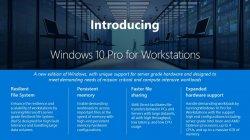 В Microsoft анонсировали новую версию Windows 10 Pro for Workstations
