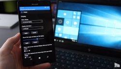 Новая сборка Windows 10 Mobile Build 15240 на видео