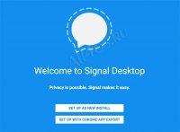 Signal Private Messenger – программа для анонимного общения с шифрованием данных