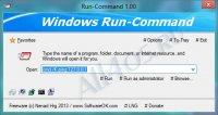 Run-Command – программа замена диалогового окна Выполнить